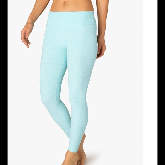 df2f4347fedbda Beyond Yoga Pants   Sale Space Dye Legging Seaglass M Nwt   Poshmark
